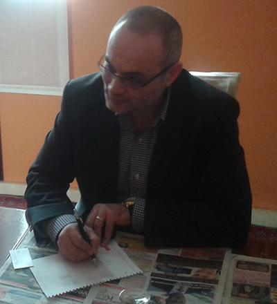 Stejărel Olaru la Ambasada României în Regatul Spaniei