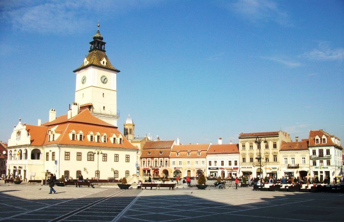 Brasov Central Square - the Council Square
