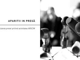 Apariții în presă ale Asociației Române pentru Smart City |ARSC