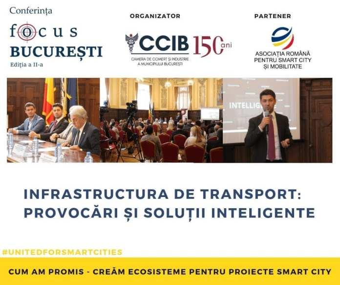 conferinta focus bucuresti 2019 - Infrastructura de transport din București - soluții inteligente | ARSC