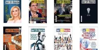 Smart City Magazine - coperti revista