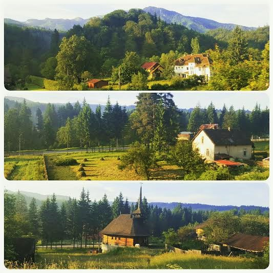 Maramures from the train