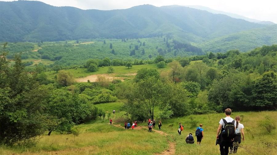 hiking in Romania