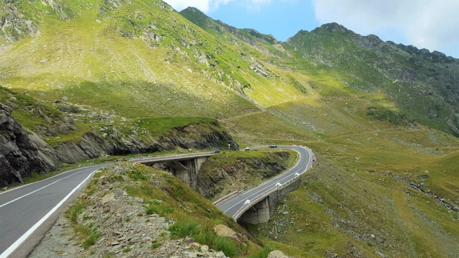 Transfagarasan the best road in Romania