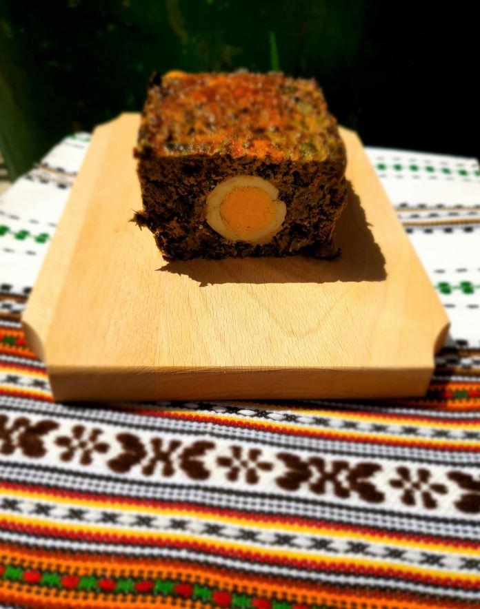 Ingrediente drob de porc traditional romanesc