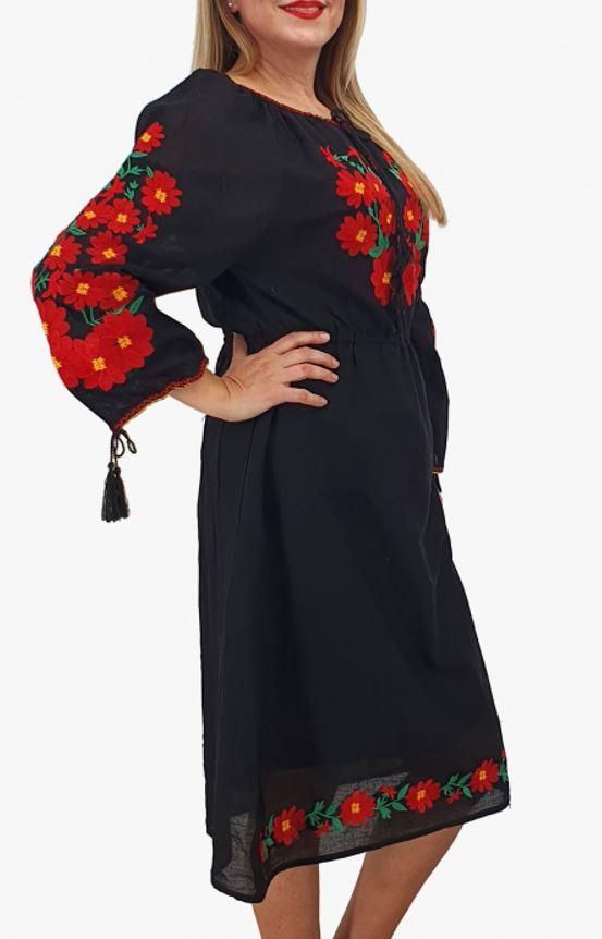 rochii cu motive traditionale marimi mari