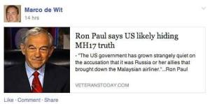 Ron-Paul-MH17-conspiracy
