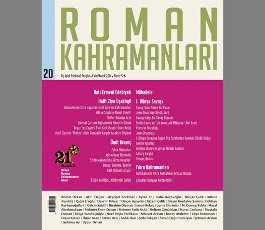 Roman Kahramanları 20. Sayı
