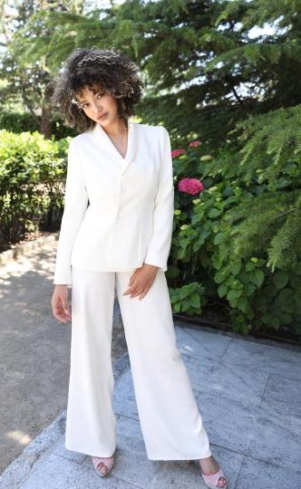 Valérie Moreau - trajes de novia con pantalones (2)