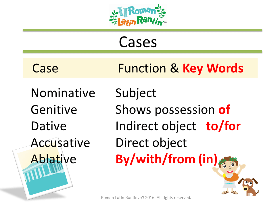 Declension Cases