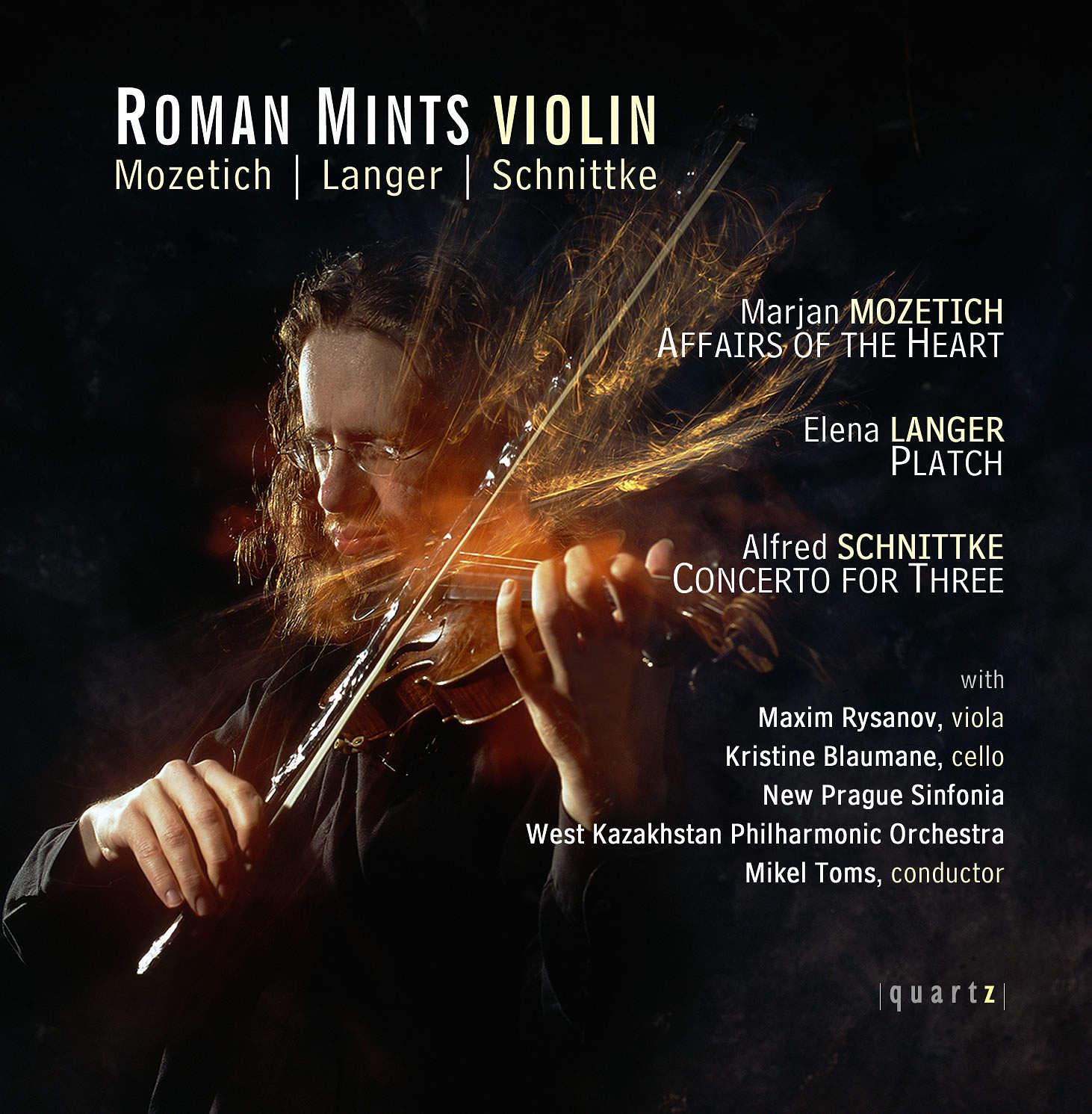 Mozetich | Langer | Schnittke