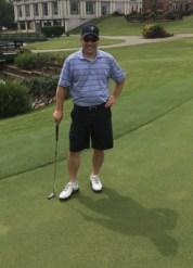 Paul Romano Golfing