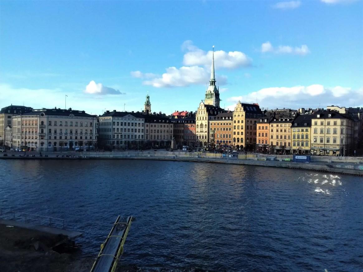 Панорама города. Поездка в Стокгольм