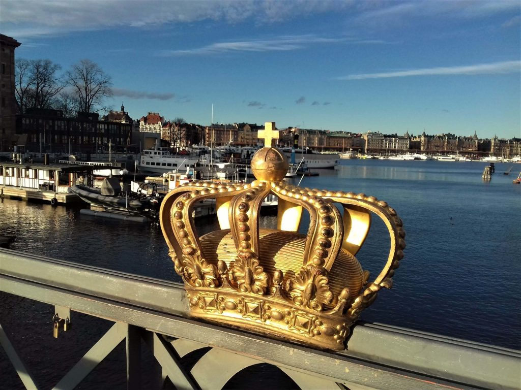 Crown on the bridge, Stockholm