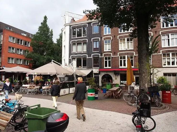 Район Де Пийп в Амстердаме