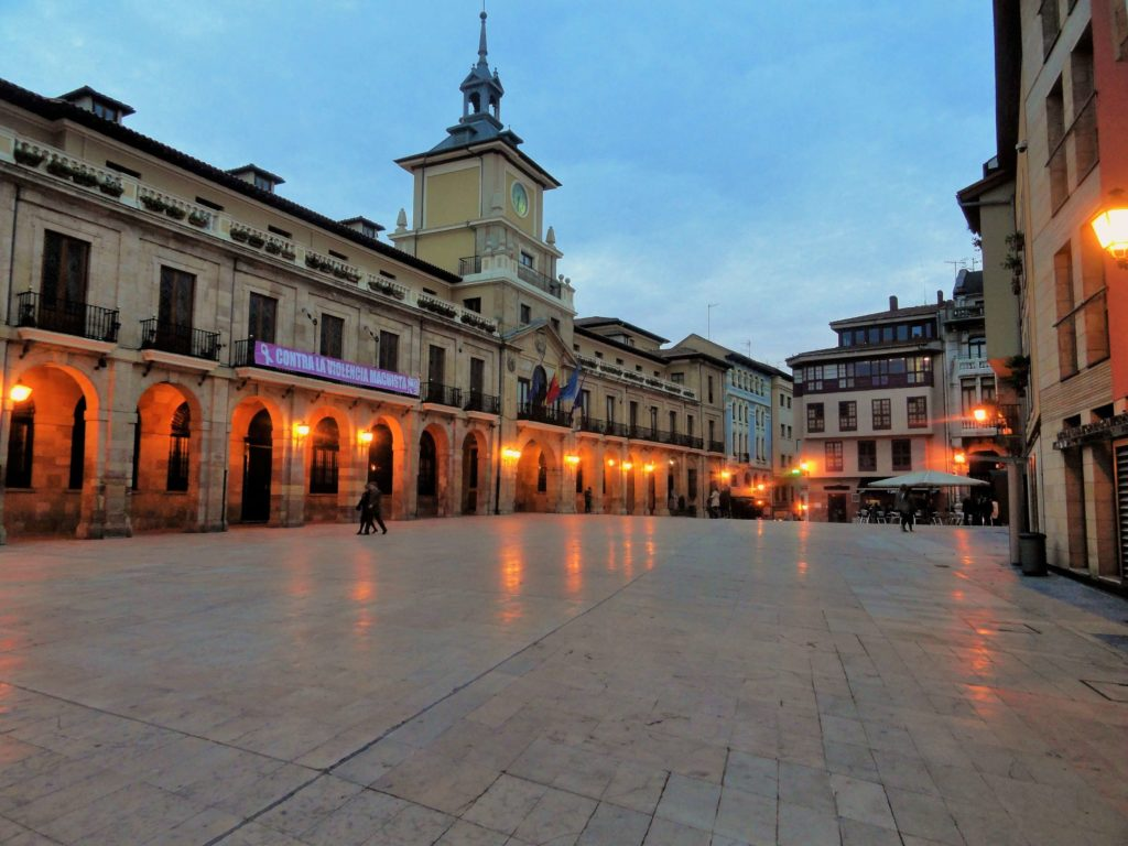 Oviedo Main square