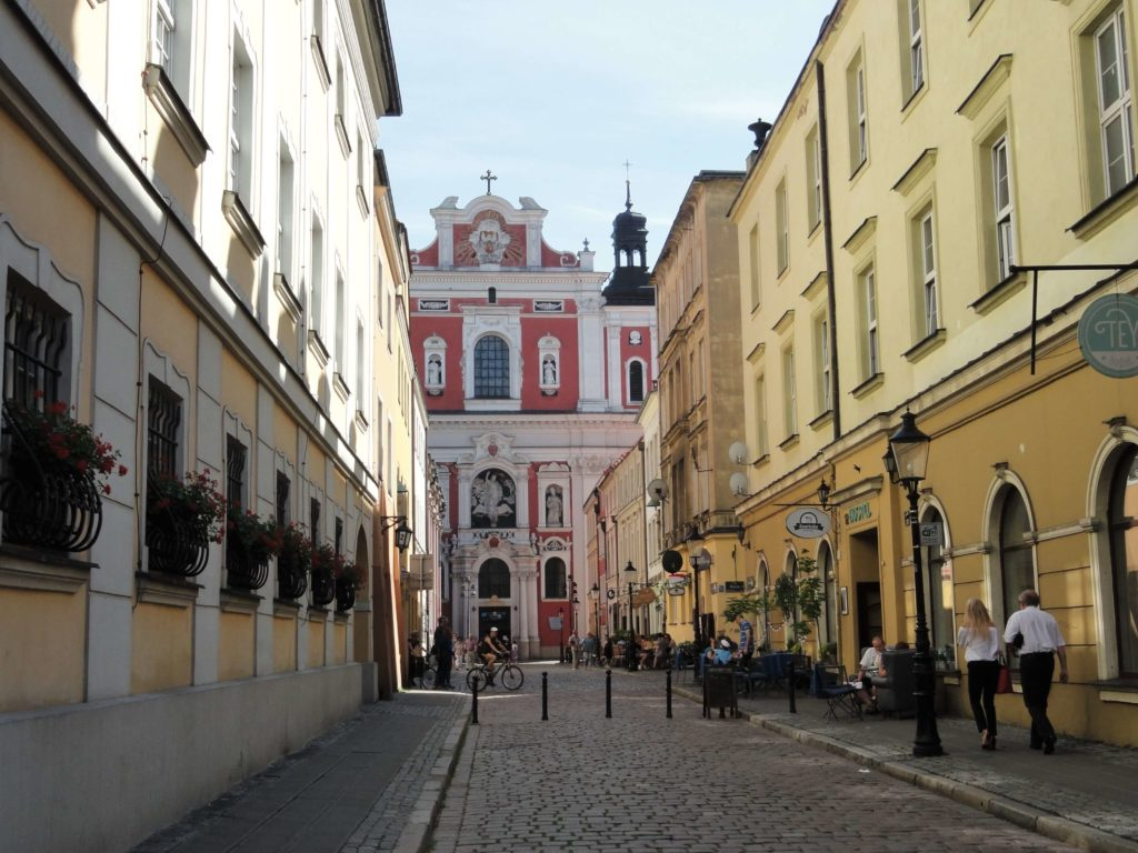 Our lady basilica in Poznan