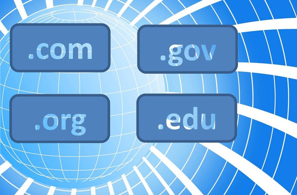Domain names and extensions