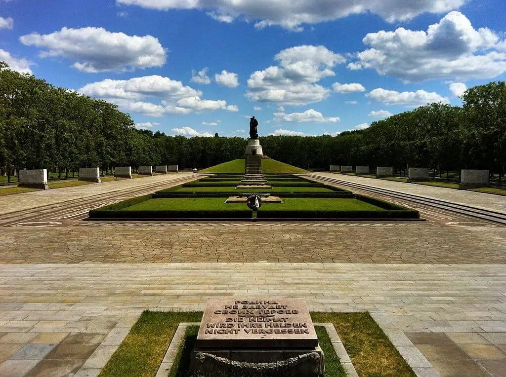 Советский Мемориал в Темптов-парке