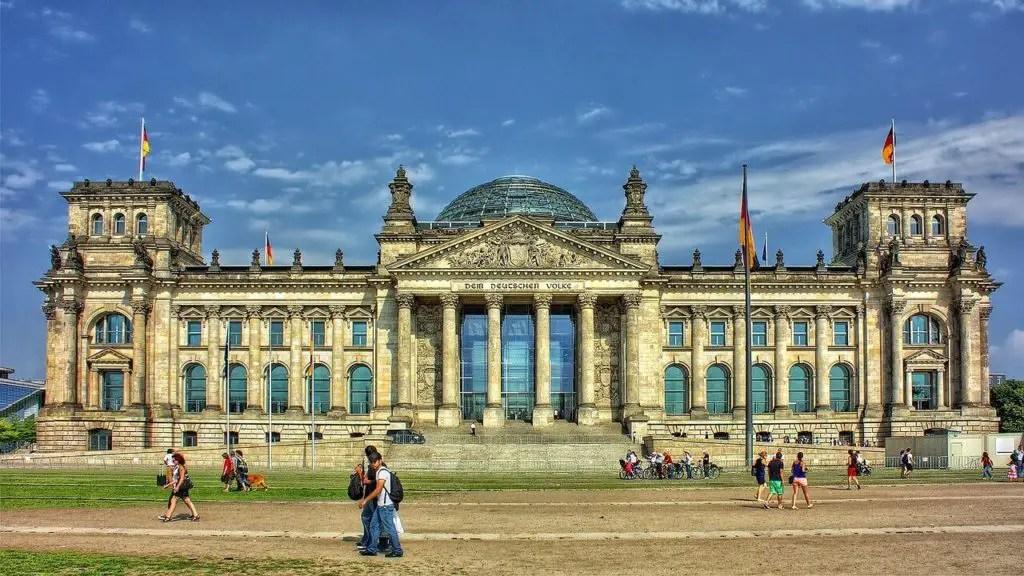 Рейхстаг, достопримечательности Берлина