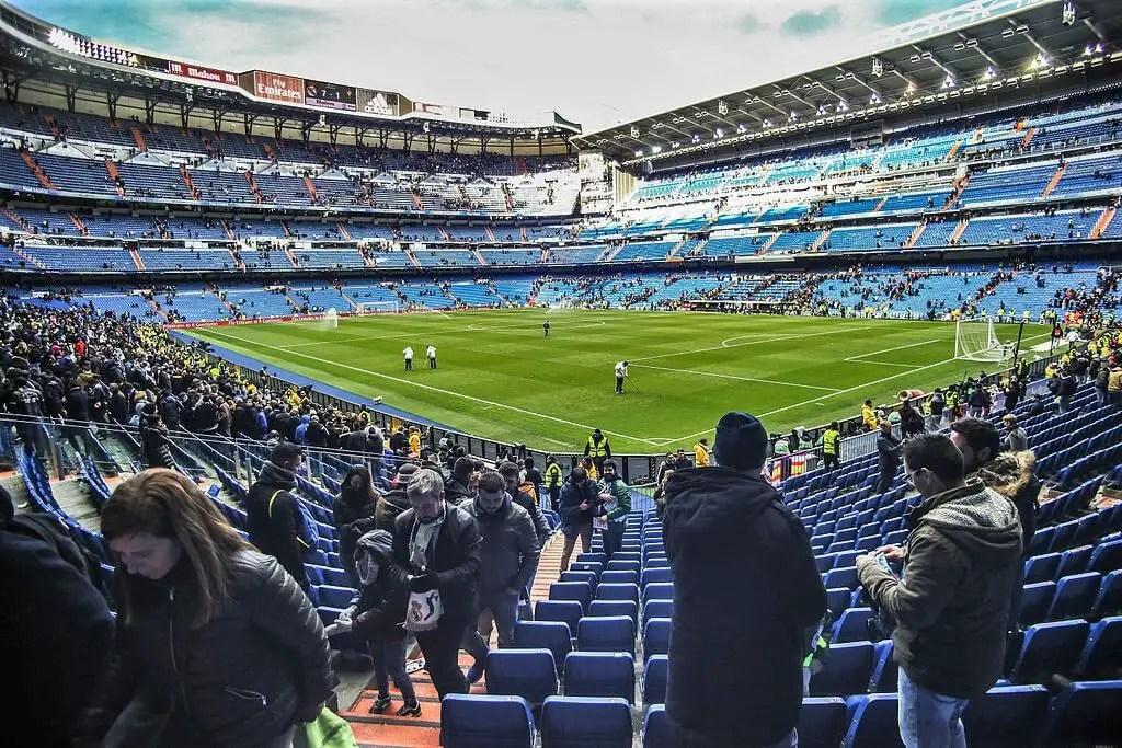 Santiago Bernabeu stadium, Madrid attractions
