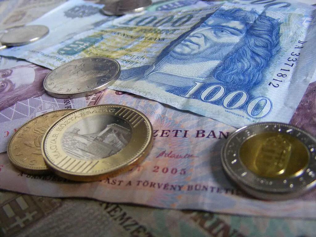 Forints, money of Hungary