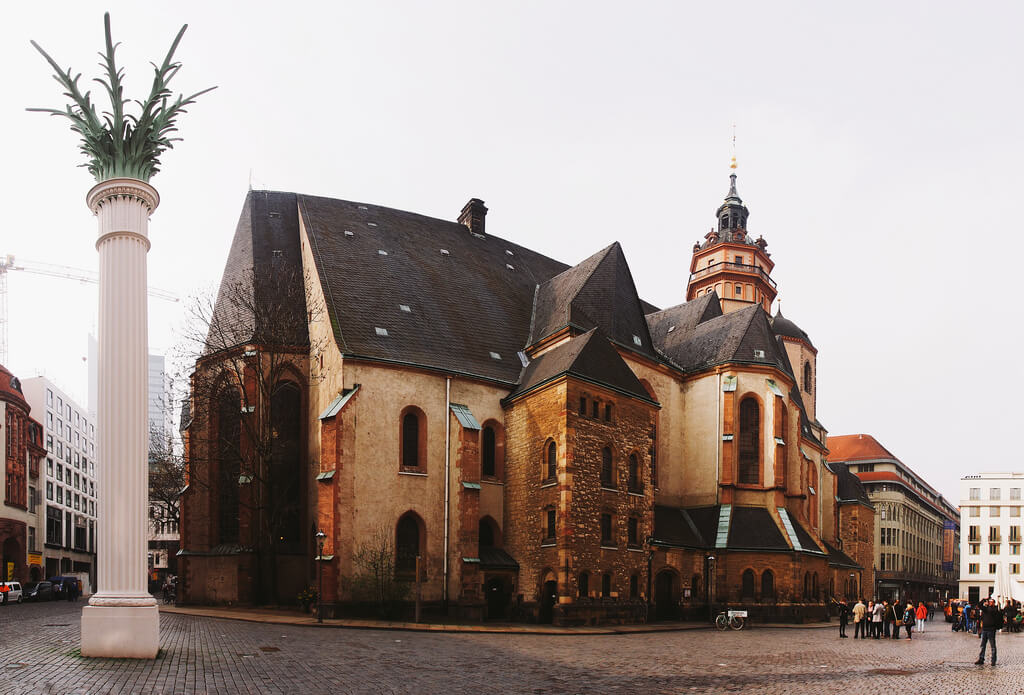 St. Nicolas Church in Leipzig, cool places to visit