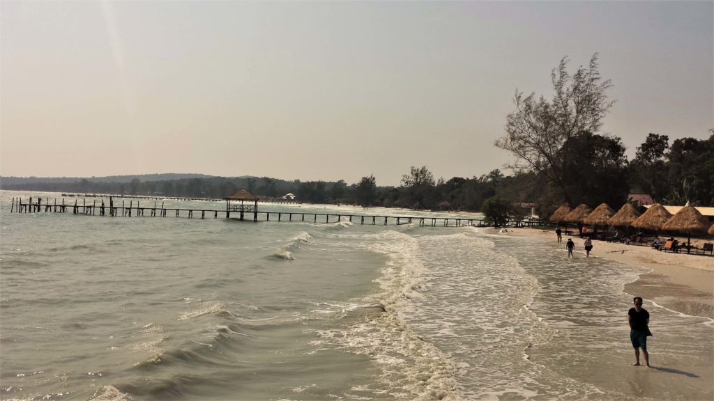 Sea and beach in Koh Rong, Cambodia 5 day itinerary