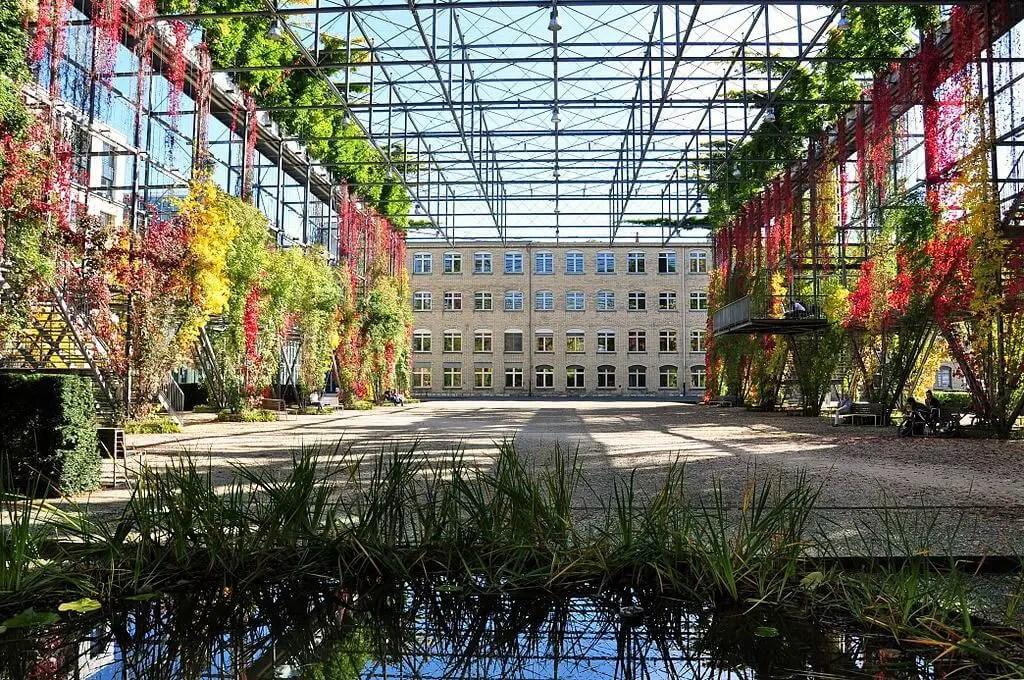 Парк Орликон в Цюрихе