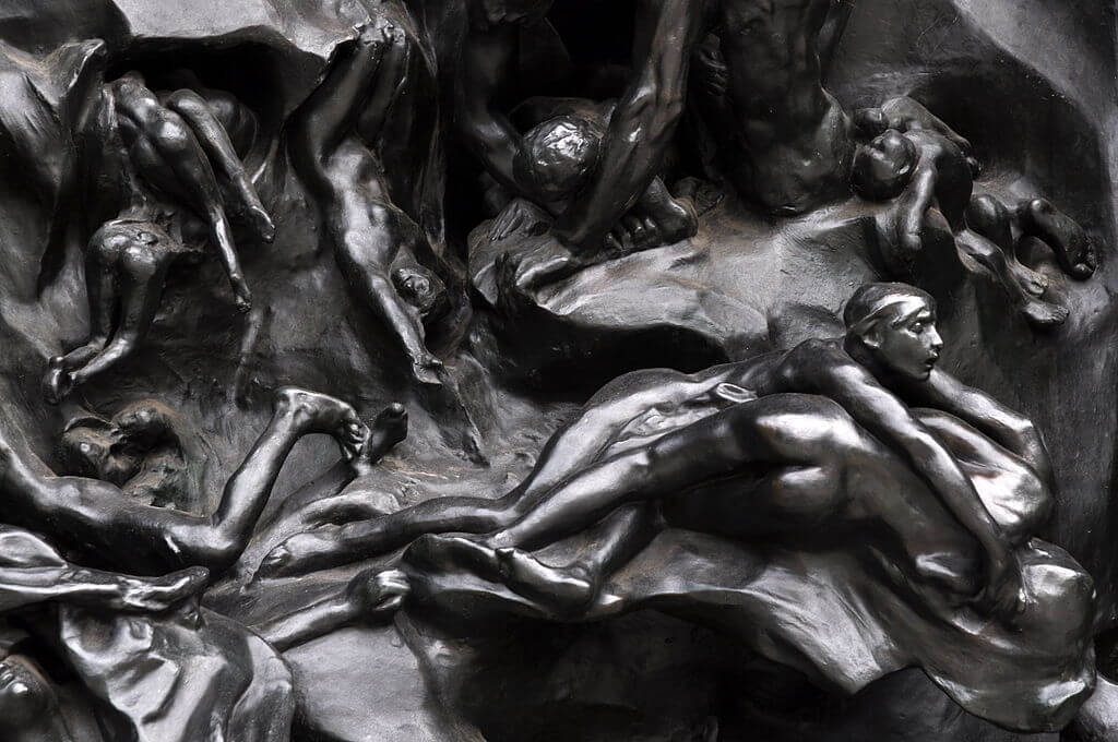 Gates of Hell by Rodin in Zurich