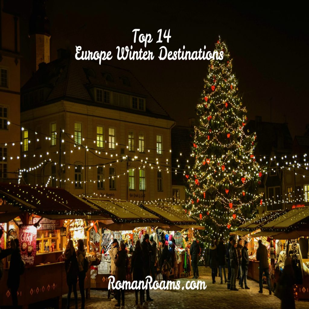 Tallinn, one of the top winter destinations in Europe