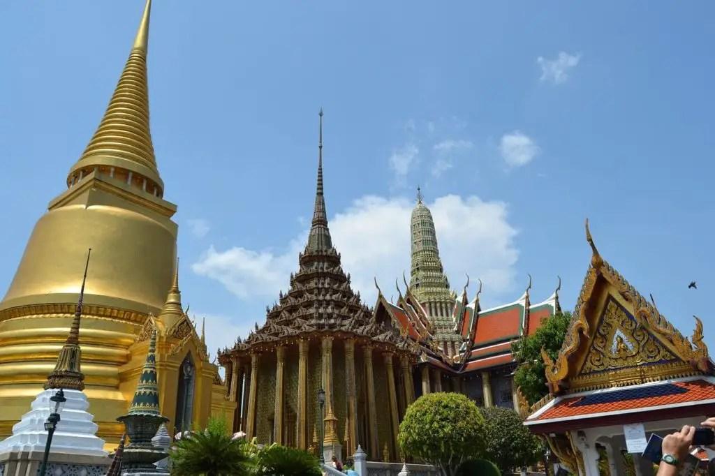 Golden Grand palace in Bangkok, Thailand
