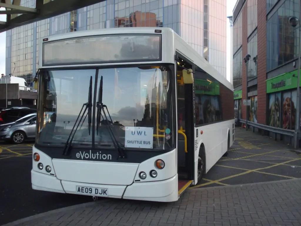 London Shuttle bus