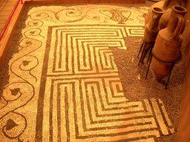 Caerleon museum - mosaic