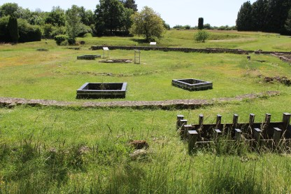 The Gallic sanctuary at Fontaines Sallees