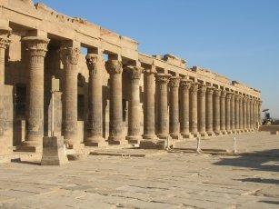 Augustan colonnade at Philae