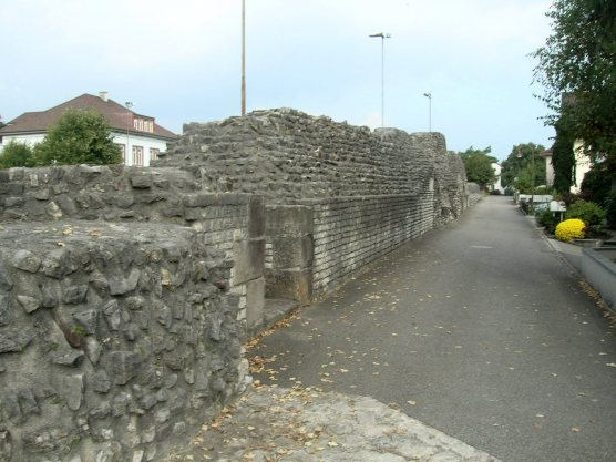 Augst fortress wall