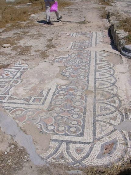 Hersonissos basilica mosaic