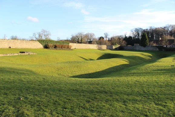 Piercebridge fort ditches