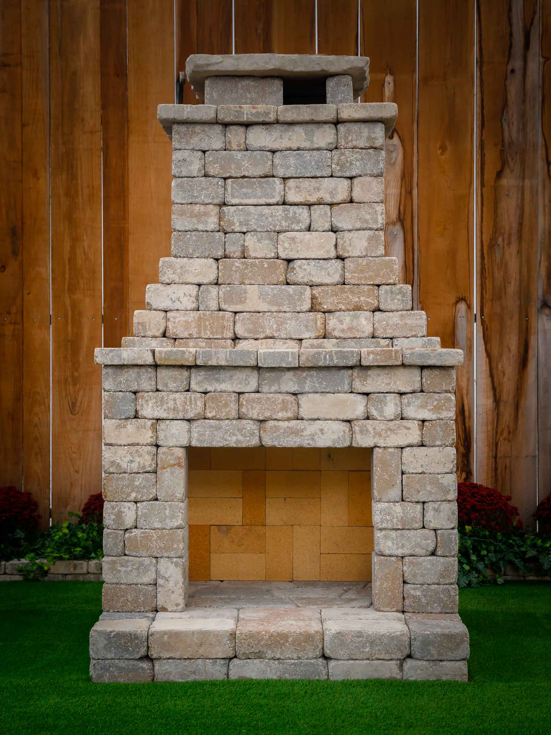 Build Your Own Outdoor Fireplace Kit | MyCoffeepot.Org on Simple Outdoor Brick Fireplace id=77761