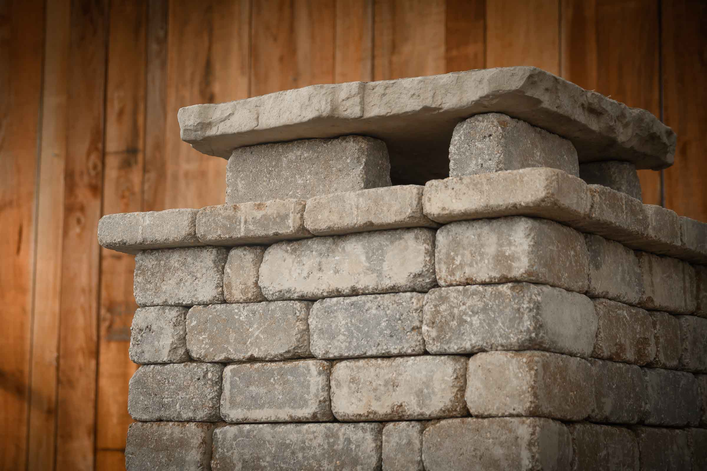 Diy Outdoor Fremont Fireplace Kit Makes Hardscaping Simple