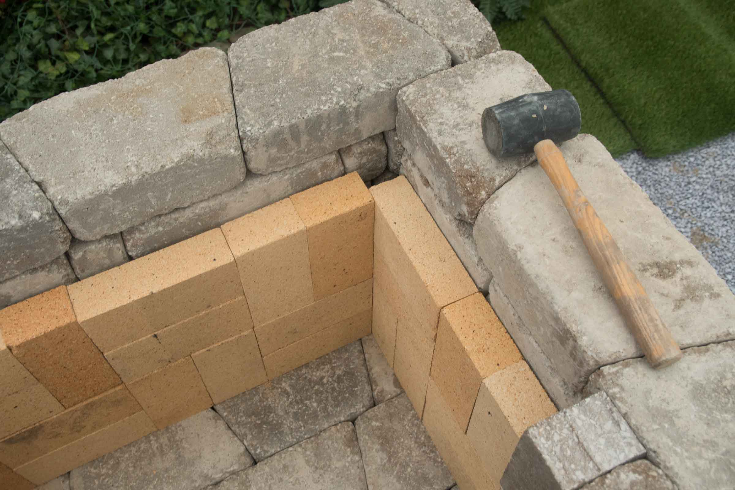 "DIY Outdoor Fireplace Kit ""Fremont"" makes hardscaping ... on Diy Outdoor Fire  id=69254"
