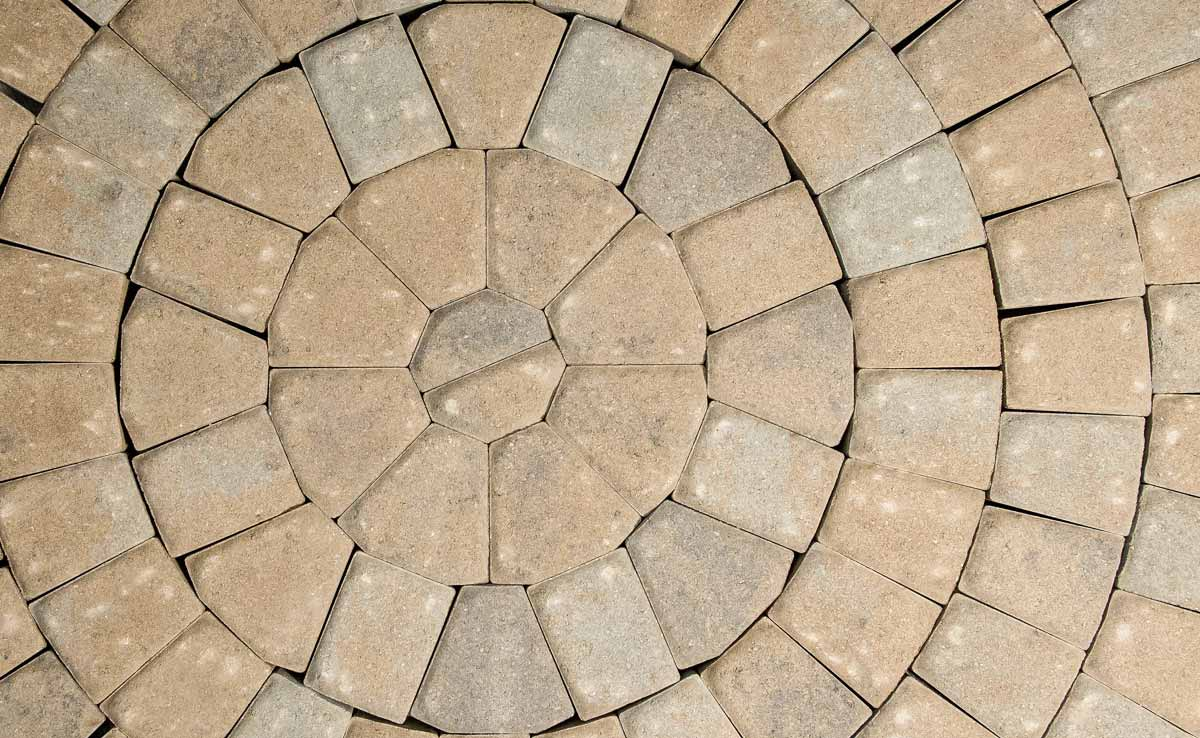 our circle paver kit just exactly that