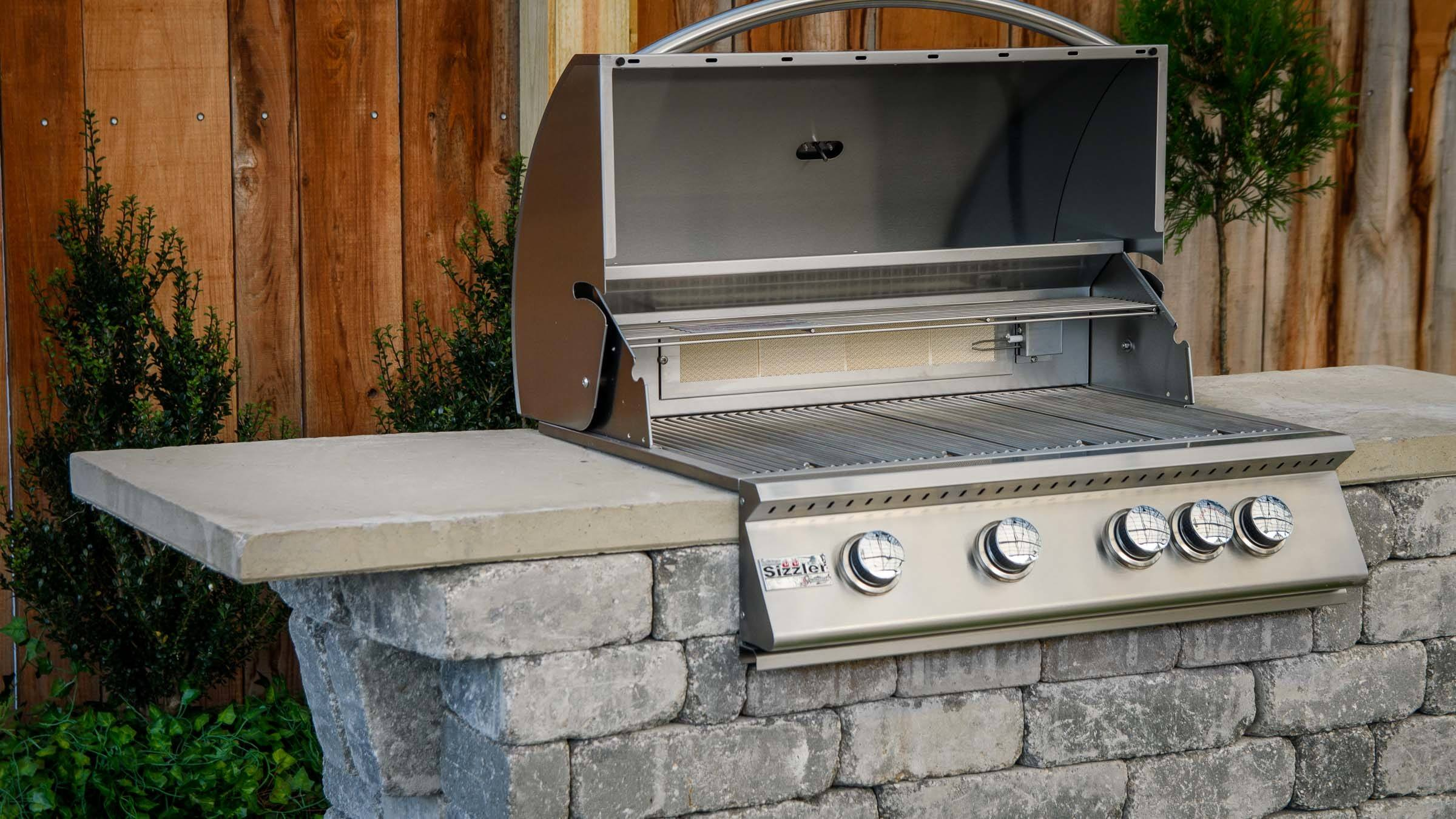 Willard Grill Island - Jealousy inducing grills without ... on Diy Patio Grill Island id=91758