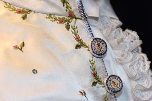 18th c. Embroidered Waistcoat