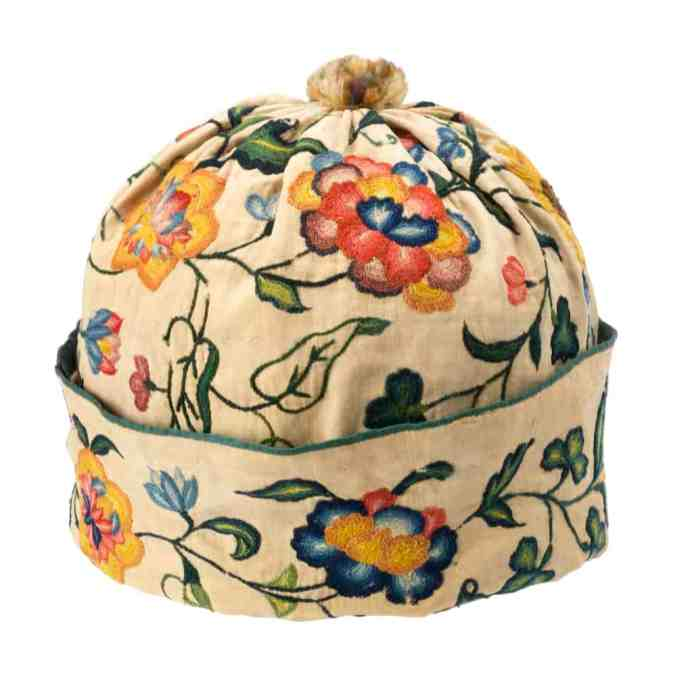 Early 18th c man's cap