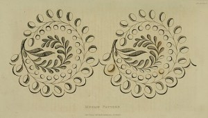 June 1823 Eyelet Border