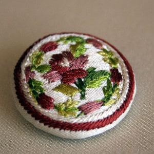 18th century button