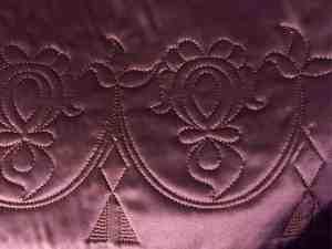 18th c. quilted petticoat