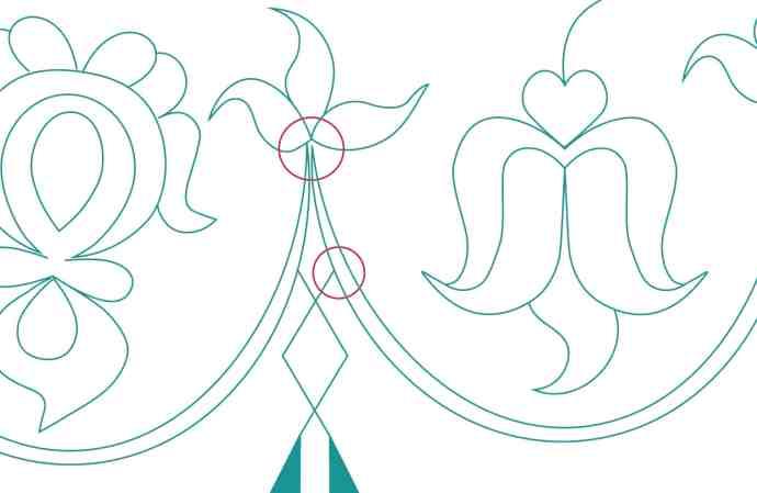 Design Process - 18th c. Petticoat